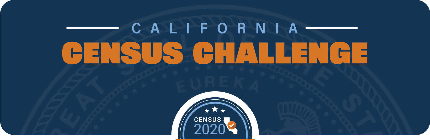 California Census Challenge header