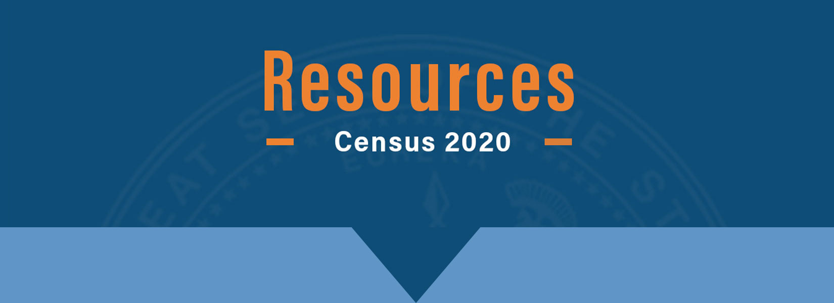 Resources Census 2020 banner